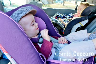 Combi Coccoro Convertible Car Seat. Click the picture to view the review.