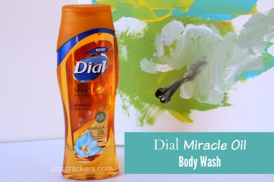 Dial Miracle Oil Infused Body Wash. Click the picture to read the review and enter to win.
