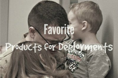 Favorite Products for Deployments Cover