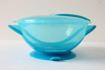 Nuby Easy Go Suction Bowl and Spoon Suction Cup. Click the picture to read the review.