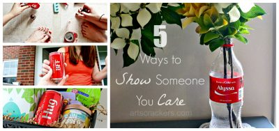 Coca-Cola 5 Ways to Show Someone You Care About Them. Click the picture to read more.
