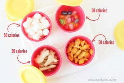 Nuby Garden Fresh Storage Pots 50 Calorie Snacks