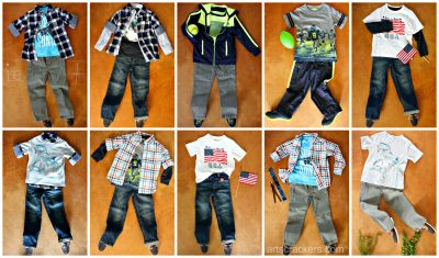 Back to School Clothing Help Samples