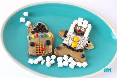 Gingerbread Pancakes Decorating Cover