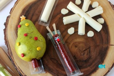 String Cheese Christmas Snack Ideas Cover