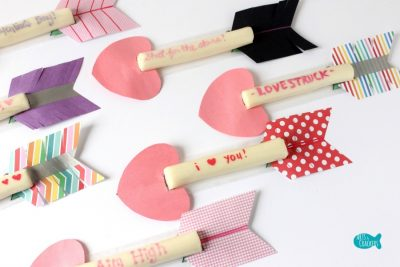 Cupid's Arrow String Cheese Craft 9