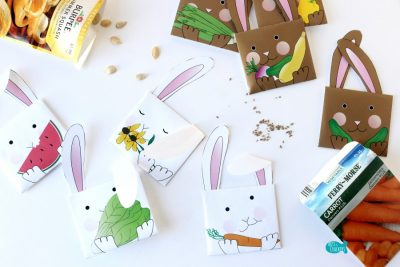 Bunny Seed Packet Envelopes for Spring Cover