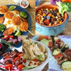 Weekly Meal Plan Warmer Weather Square