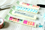 Secret Message String Cheese Wrapper Lunchbox Notes