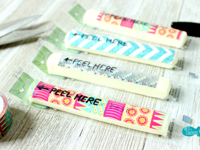 Secret Message String Cheese Wrappers Lunchbox Notes Cover