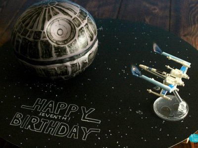 Death Star Cake Cover